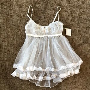 VS I Do Bridal Babydoll NWT